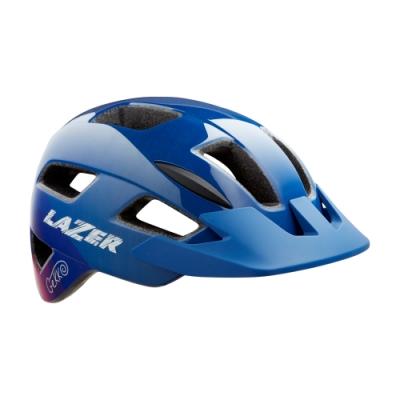 【LAZER】GEKKO 兒童用 自行車安全帽 藍粉