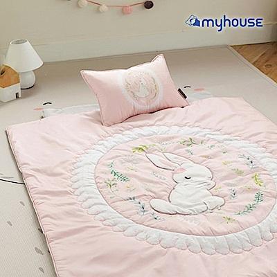 【BabyTiger虎兒寶】Myhouse  韓國防蟎兒童睡袋 - 經典兔
