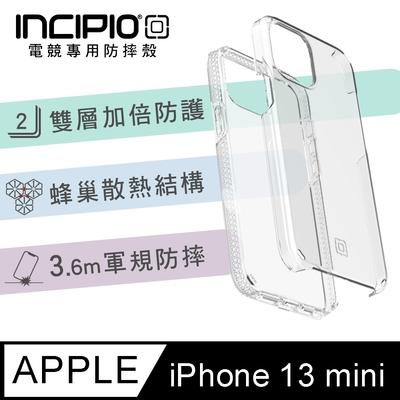 【美國INCIPIO】iPhone 13 mini 5.4吋 雙層防護手機防摔保護殼-透明