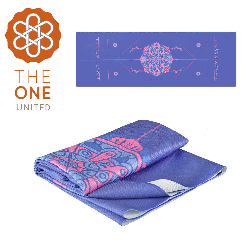 【The One】鑽石紋正位線止滑瑜珈舖巾 @ Y!購物
