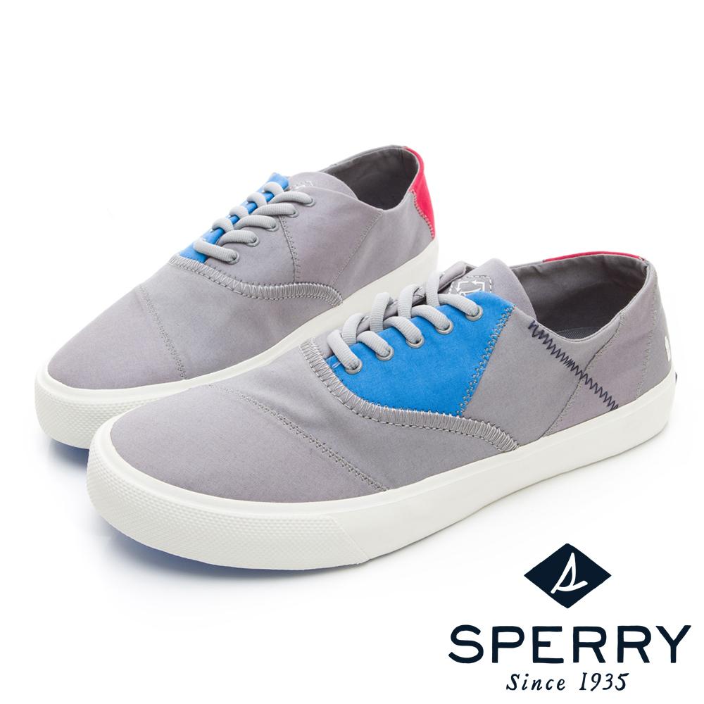 SPERRY BIONIC 撞色拼接帆布鞋(男)-灰色