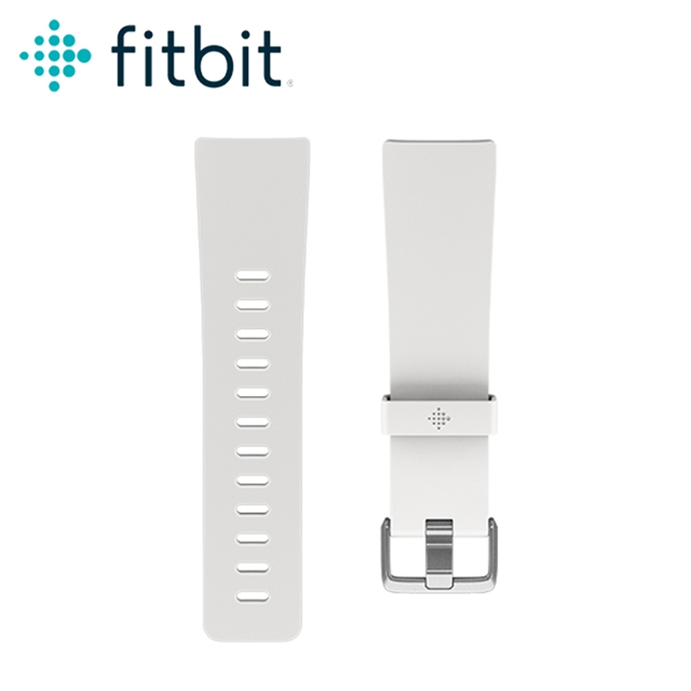 Fitbit Versa 經典錶帶-白