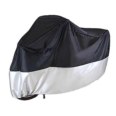 威力鯨車神 頂級加厚雙色機車防護罩/機車防曬罩/機車防塵套-L號