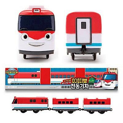 韓國TITIPO 小火車TI72989 火車嘟嘟嘟  ICONIX公司貨