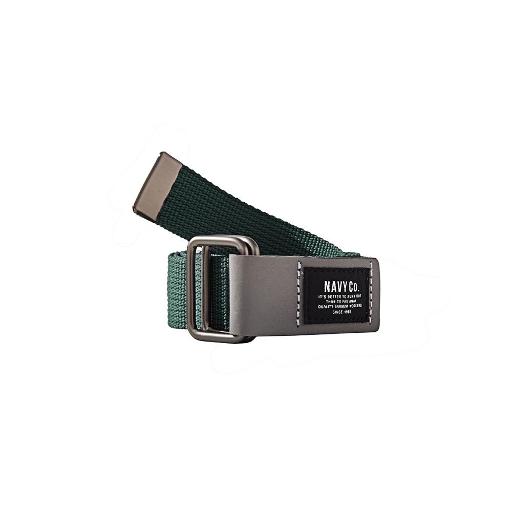 NAVY-MIT 雙環款皮帶-(兩色)-男【SNA019】