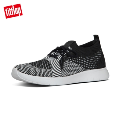 FitFlop MARBLEKNIT SNEAKERS 休閒鞋 黑/白色