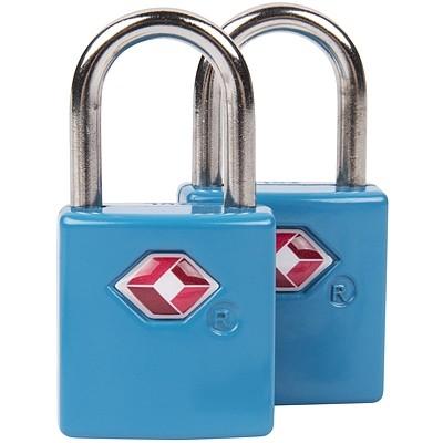 《TRAVELON》TSA行李鑰匙鎖2入(藍)