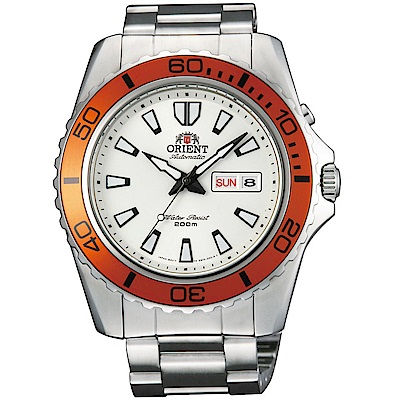 ORIENT東方錶WATER RESISTANT系列200米潛水錶(FEM75007W)