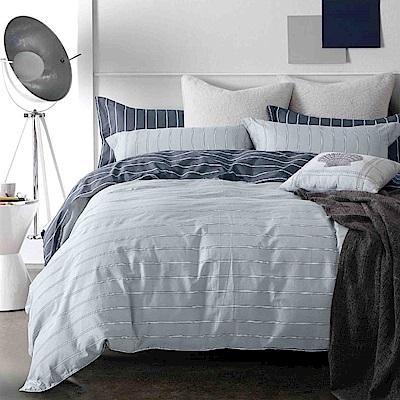 Grace Life 思維空間 台灣精製 特大精梳純棉床包三件組~床圍高度35公分