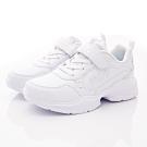 FILA頂級童鞋 輕量慢跑鞋款 FO09U-111白(中大童段)
