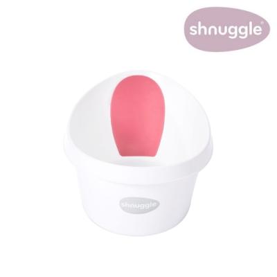 【英國Shnuggle】月亮澡盆MAX-焦糖粉(兒童浴盆)
