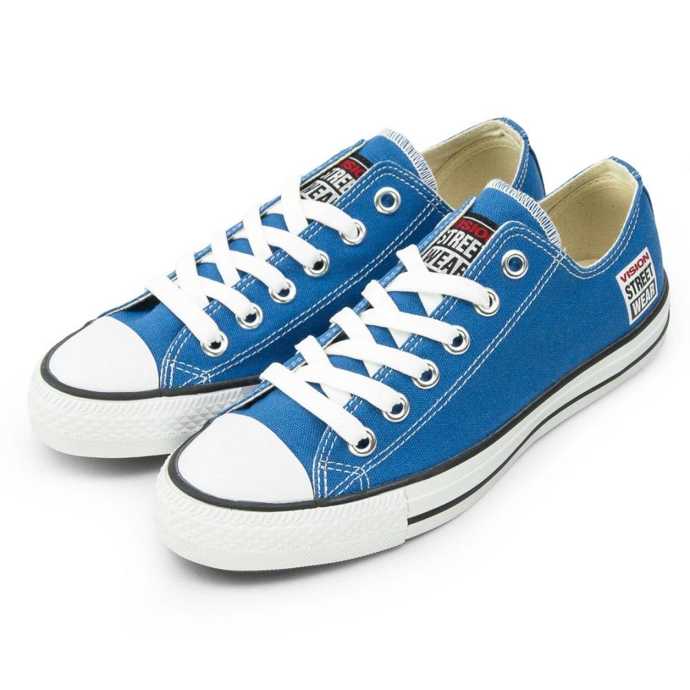VISION STREET WEAR 經典帆布鞋 藍 V22011