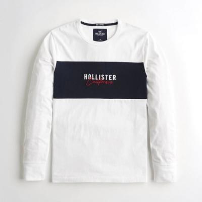 Hollister HCO 長袖 T恤 白色  1431