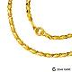 (無卡分期18期)Jove gold 日月黃金項鍊(約10.30錢)(約2尺/60cm) product thumbnail 1