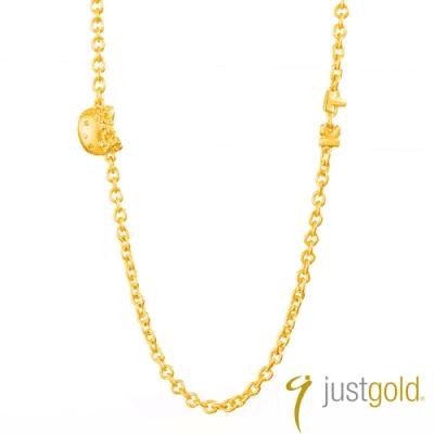 鎮金店Just Gold 天使 Kitty純金系列 黃金項鍊
