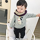 Baby unicorn 淺綠小狗圖案長袖上衣