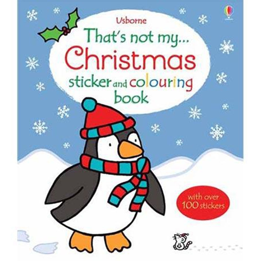 That's Not My Sticker And Colouring Book:Christmas