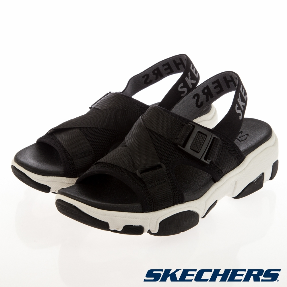 SKECHERS  女休閒系列 涼拖鞋 DADDY O-163051BLK