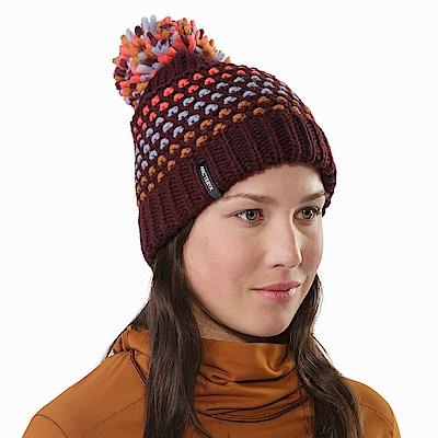 Arcteryx Fernie編織 溫暖毛球帽 緋紅