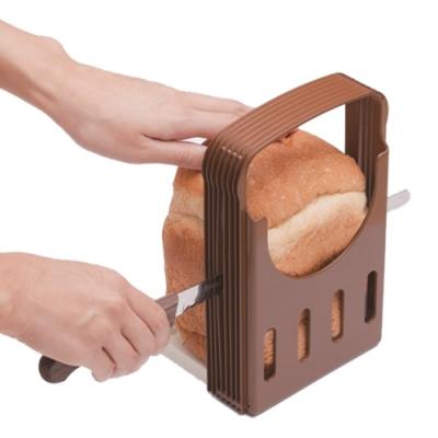 日本製吐司切片模+高級麵包刀-2件組