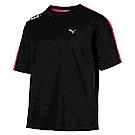 PUMA-女性流行系列Chase短袖T恤-黑色-亞規