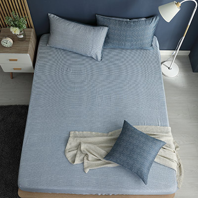 LASOL睡眠屋-100%奧地利天絲 雙人床包枕套三件組230織 心情敘事