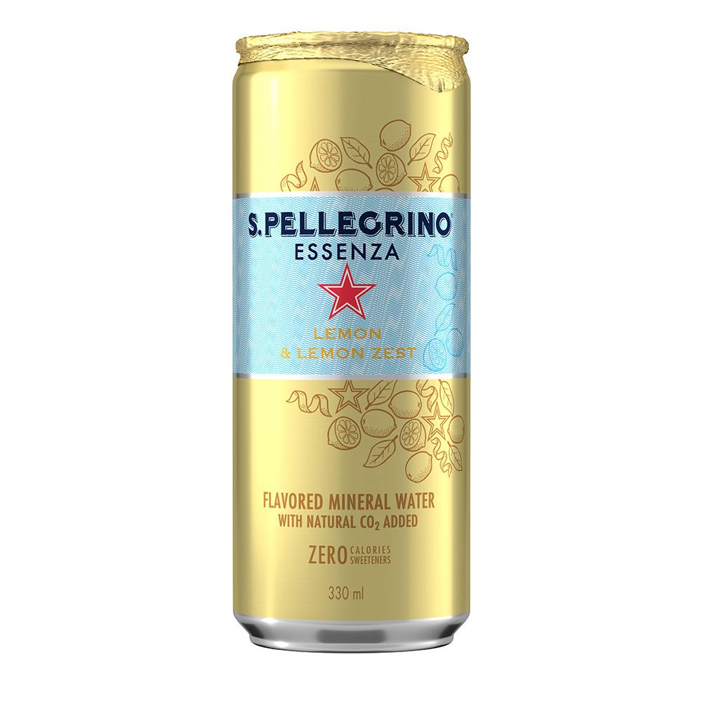 S.Pellegrino聖沛黎洛 零卡香氛氣泡飲-冰心凍檸(330ml)