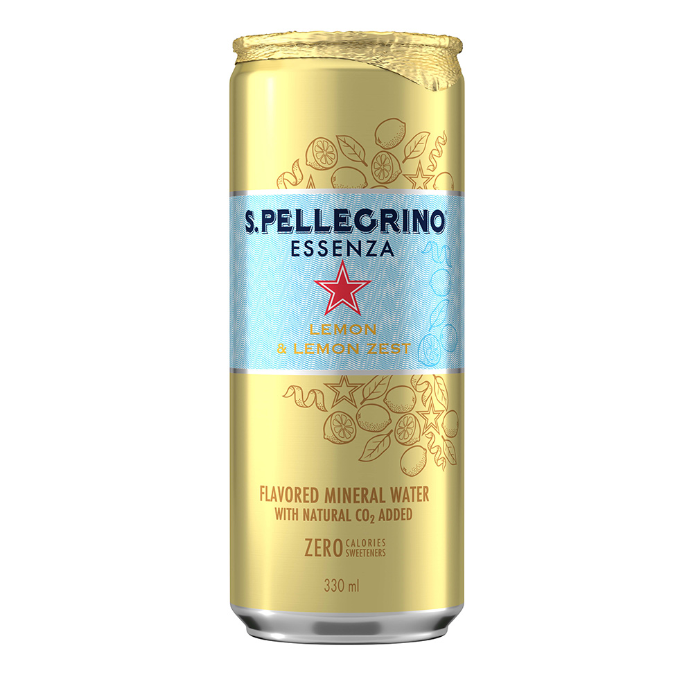 S.Pellegrino聖沛黎洛 零卡香氛氣泡飲-冰心凍檸(330mlx24入)