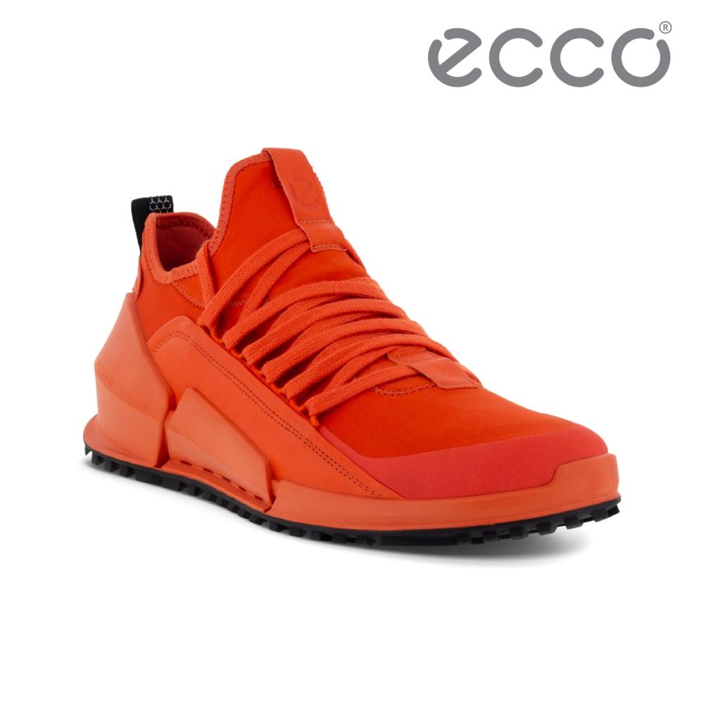 ECCO BIOM 2.0 M 透氣極速戶外運動鞋 男鞋 火焰紅