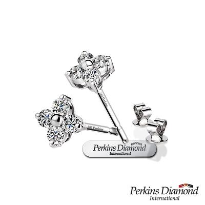 PERKINS 伯金仕 - Princess系列 總重0.22克拉耳環