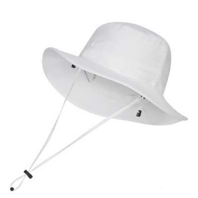 Nike 帽子 UV Golf Bucket Hat 男女款 吸濕排汗 快乾 漁夫帽 遮陽 穿搭 白 黑 AJ5468100