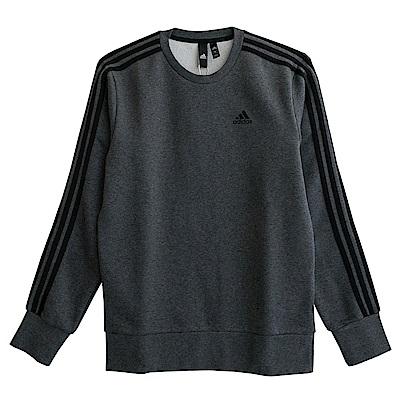 Adidas ESS 3S CREW-長袖上衣-男