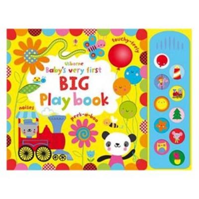 Baby s Very First Big Play Book 小寶貝的翻頁觸摸有聲書