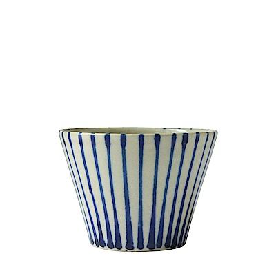沖繩陶器工房壹 多用杯(線)(直徑9.5cm)