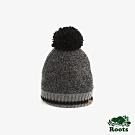 ROOTS 配件- 溫馨佳節針織帽-黑