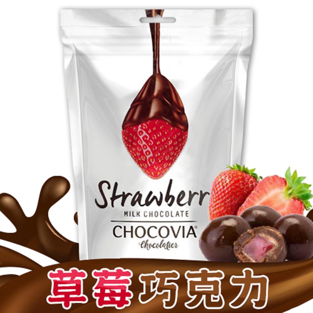 CHOCOVIA 草莓巧克力(120g)