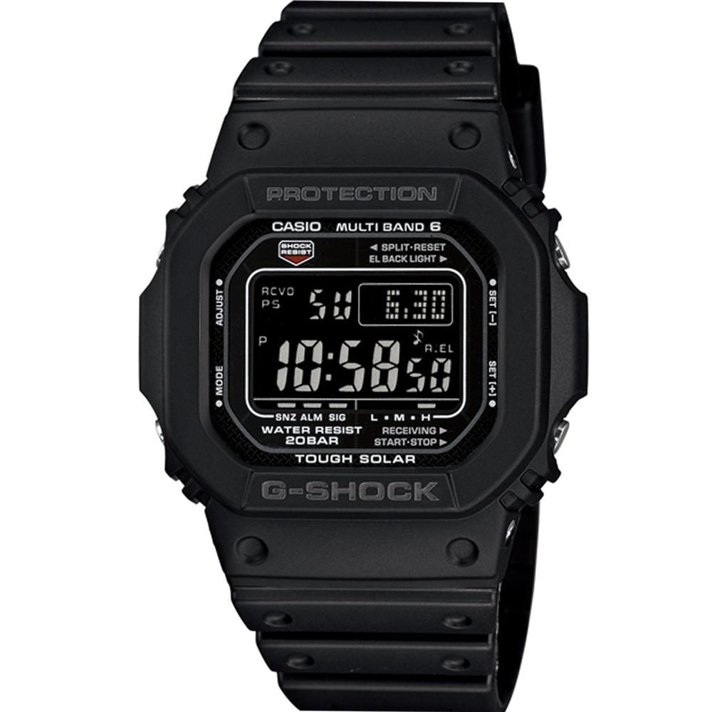 G-SHOCK 5600系列進化六局電波腕錶(GW-M5610-1B)