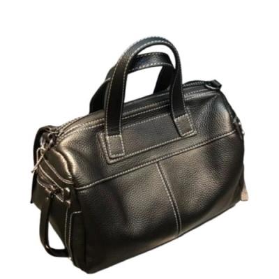 米蘭精品 手提包真皮側背包-簡約百搭純色牛皮女包包情人節生日禮物5色73yc29