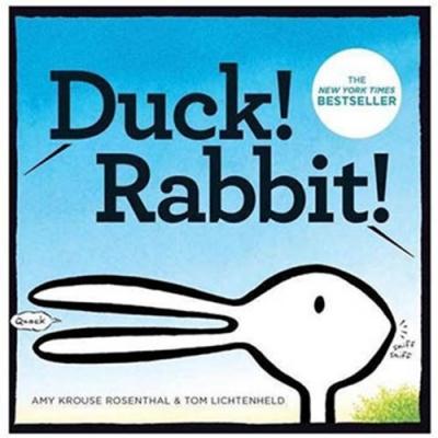 Duck! Rabbit! 是鴨子,還是兔子?硬頁趣味書