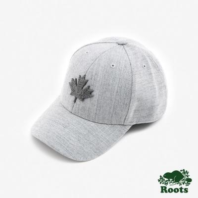ROOTS 配件- 摩登楓葉棒球帽-灰