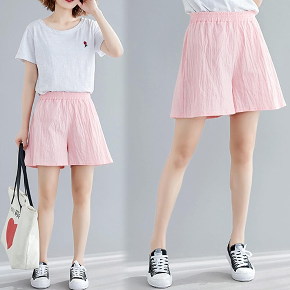 【韓國K.W.】女神同款舒活特質短褲
