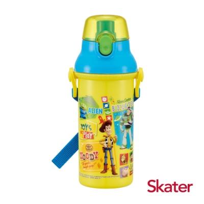 Skater直飲冷水壺 (480ml)玩具總動員-黃