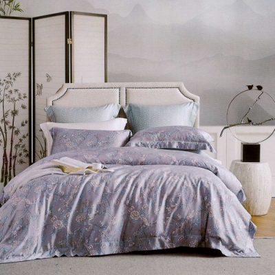 Lily Royal 60支頂級天絲 四件式兩用被床包組 加大 伊娜