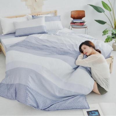 BUHO 100%TENCEL天絲涼被床包組-雙人加大(晨茶思忖)