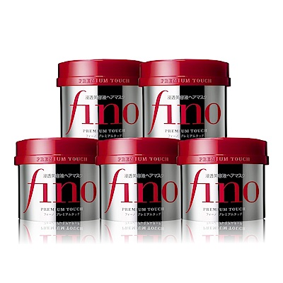 [時時樂限定!送3好禮]FINO 高效滲透護髮膜 230G X5入