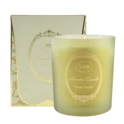 SABON 香蘭玻璃蠟燭 230g Scented Candle #Sweet Vanilla