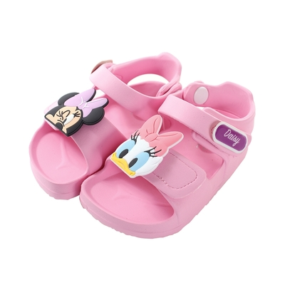魔法Baby 女童鞋 台灣製迪士尼米妮正版輕量舒適涼鞋 sd3210