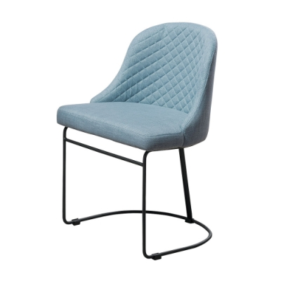 Boden-桑德斯布面餐椅/單椅(兩色可選)