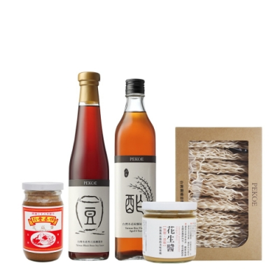 PEKOE 麻醬乾拌麵食材組(共5入)