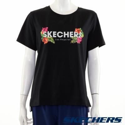 SKECHERS 女短袖衣 - L220W056-002K